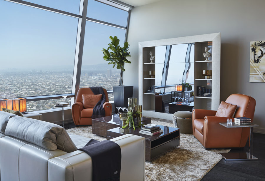 Striking Penthouse On The 50th Floor Of The Ritz Carlton Residences