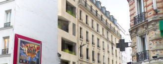 Creative Modern Extension to 19th Century Building in Paris by h2o architectes