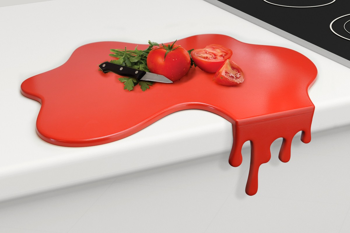 Not for the Faint-Hearted: The Blood Dripping Chopping Board