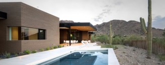 Single Storey Hillside Residence Exhaling Simple Sophistication in Paradise Valley, Arizona
