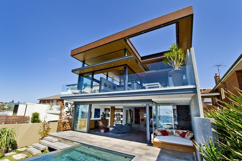 The Permanent Holiday Home With a View Over the Ocean: the Bronte House in Sydney