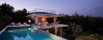 Audacious Design in Concrete and Glass: Saint-Tropez Private Estate