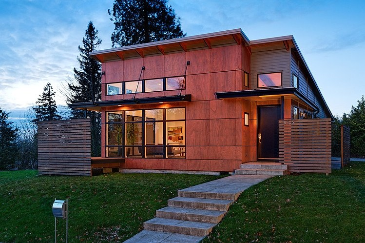 Contemporary Design Scheme With a Little Extra: The Hollcroft Residence