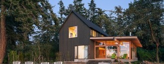 Timeless Architecture in Washington, USA: Orcas Island Retreat