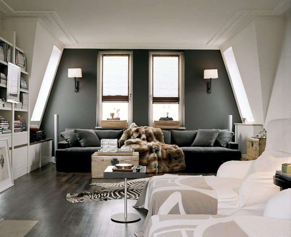 Gray Interior Walls