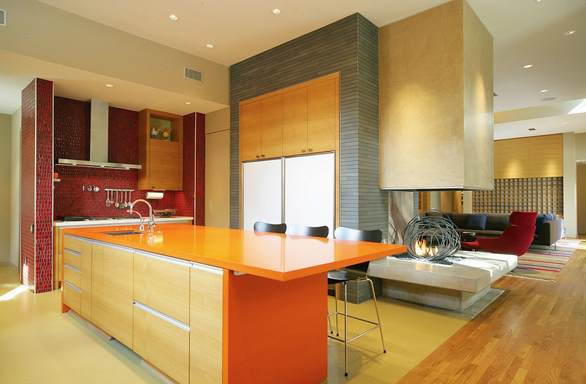 10 Things You May Not Know About Adding Color To Your Boring Kitchen - Colored-kitchens