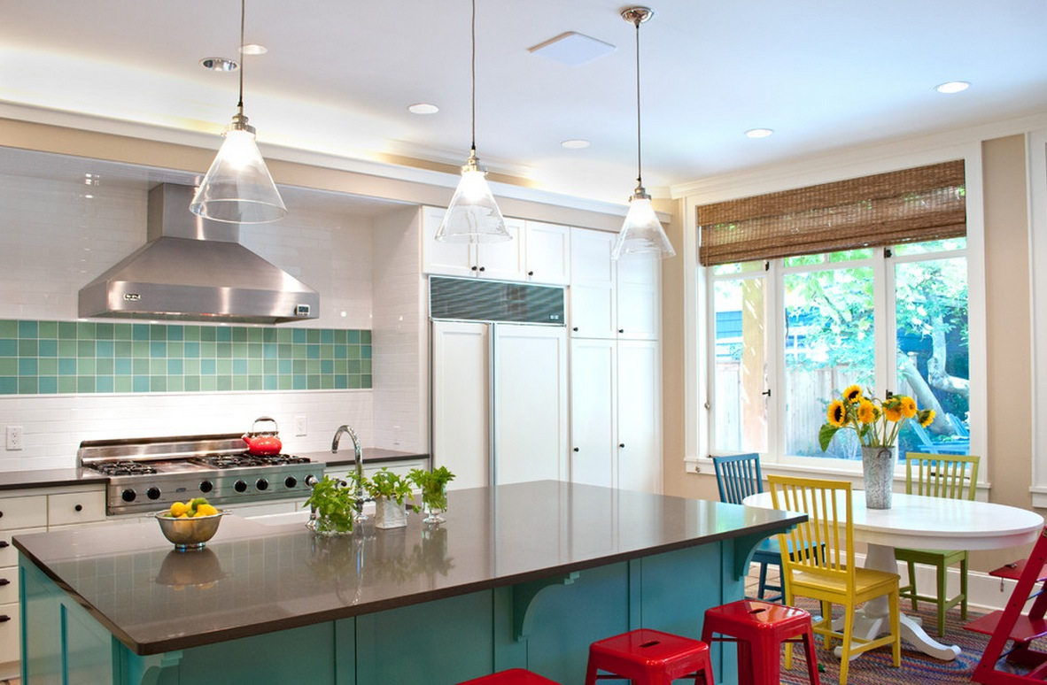10 Things You May Not Know About Adding Color To Your Boring Kitchen
