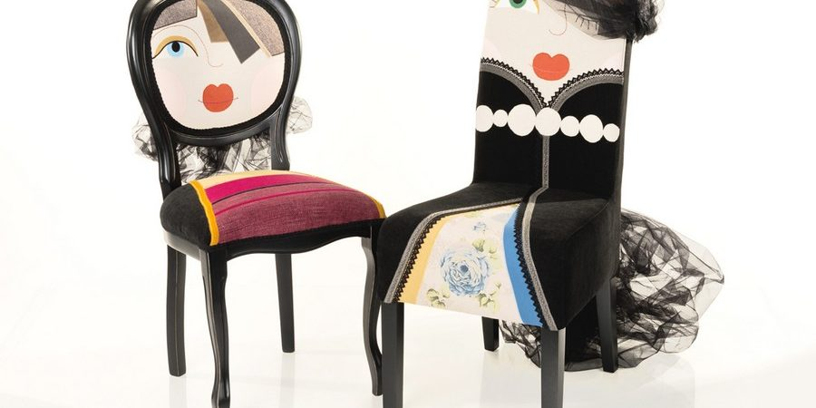 Delightful Chairs With Quirky Characters by Romanian Designer Irina Neacsu
