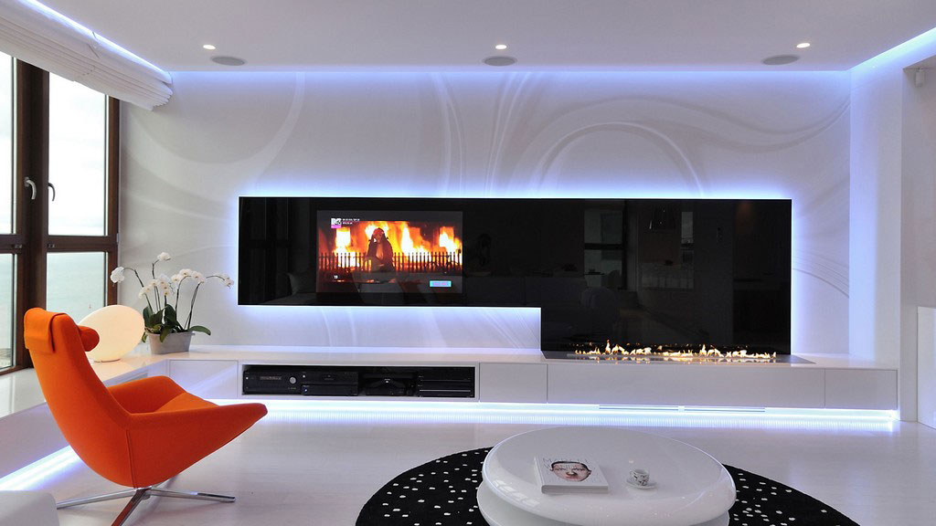 Very Stylish And Modern Apartment In Poland Integrating A