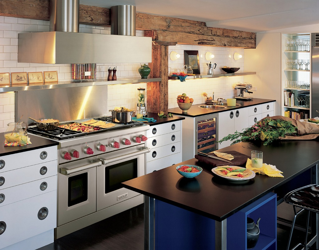 Subzero wolf kitchen appliances contemporary