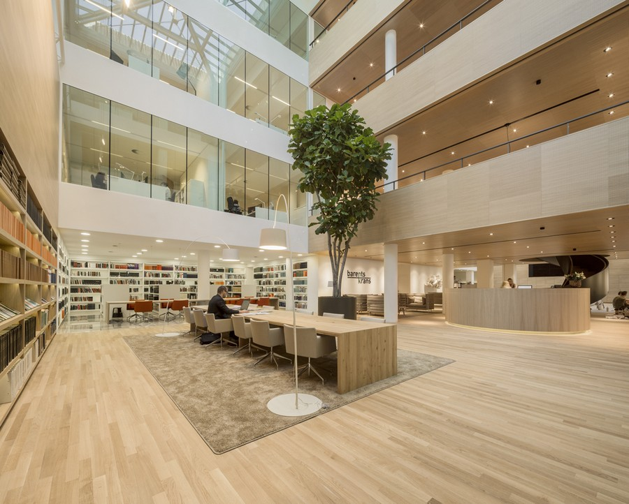 Sophisticated Law Firm Design By Hofman Dujardin The
