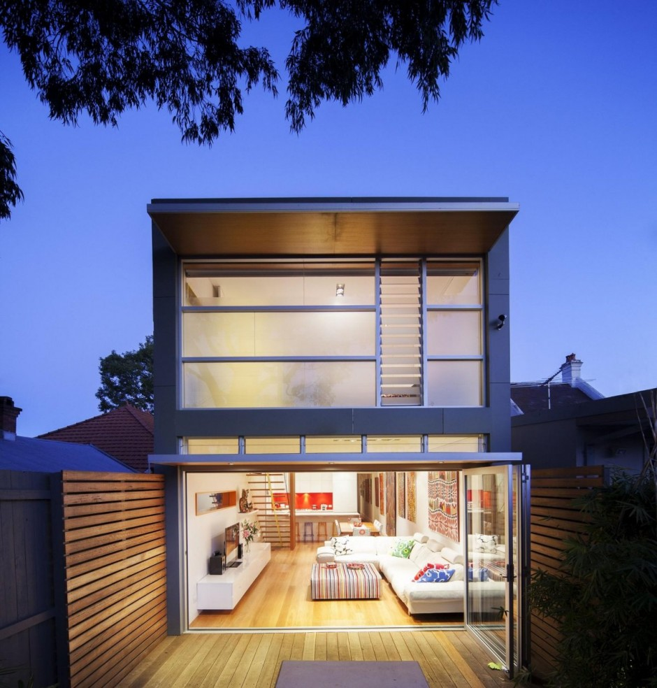 Modern Addition To Heritage Home In Sydney: 46 North