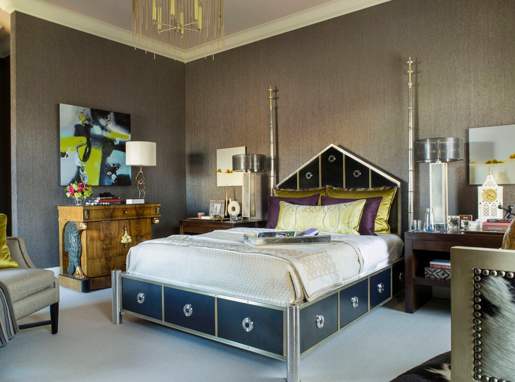 art deco bedroom & 10 Hot Trends for Adding Art Deco into your Interiors | Freshome.com