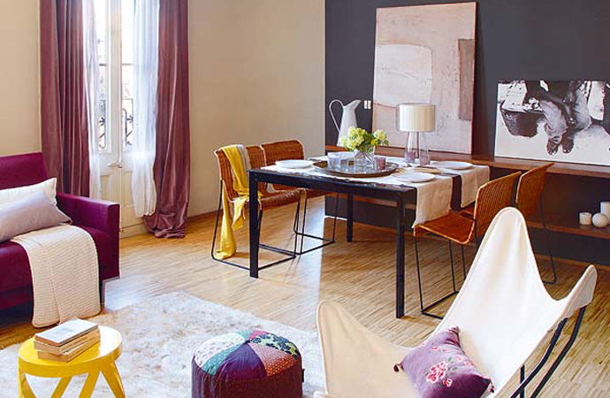 Vibrant Family Apartment Exuding a Welcoming Feel in Barcelona