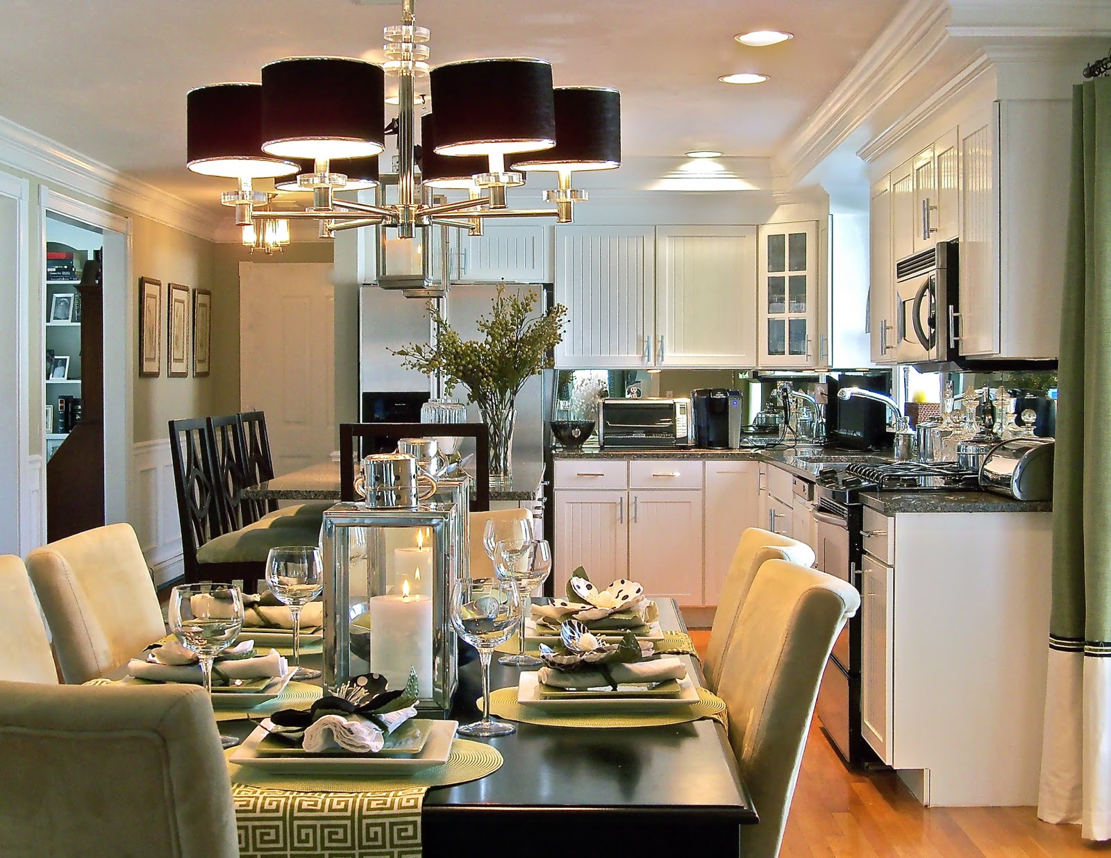 Collect This Idea Formal Dining Room Eat In Kitchen