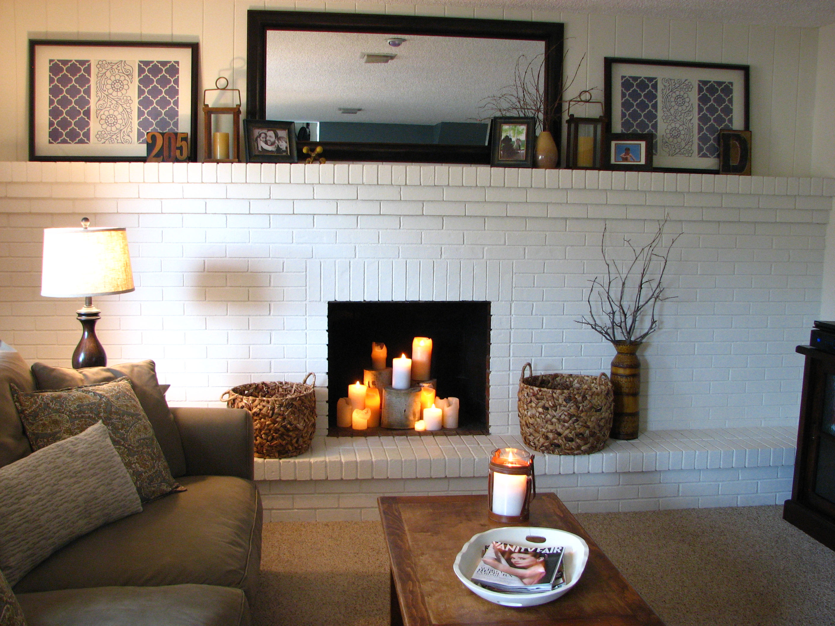 house to home fireplace