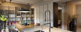 Office Space by Day, Cozy Home by Night: Exquisite Taipei Studio