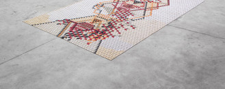 Colours and Geometric Patterns: Elisa Strozyk's Amazing Wooden Rugs