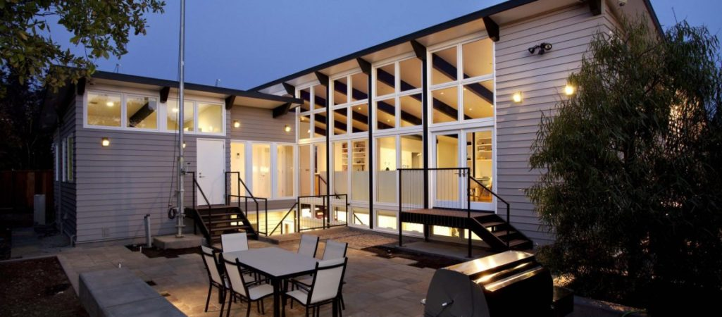 Sustainable Home Brightly Decorated: The Net Zero Energy Modern House