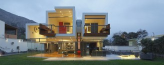 Ancestral Contemporary Architecture: 3D-Like Volumes Defining a House in Peru
