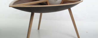 Philipp von Hase's Latest Handcrafted Work: the Spire Table and the Trialog Chair