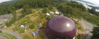 Inflatable Concert Hall Bringing Solace to Japan's Tsunami-Affected Areas