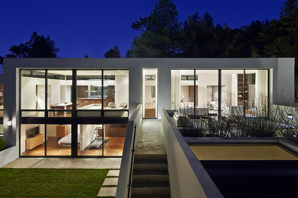Modern Home Design With a Little Extra: Hillsborough II Residence by MAK Studio Architects