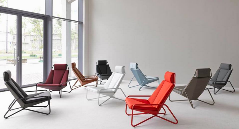 Gorgeous and Comfortable VIK Lounge Chair Designed by Arian Brekveld