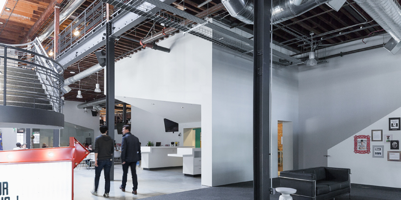 Pinterest's New Creative Offices in San Francisco Boasting Over-Sized Volumes