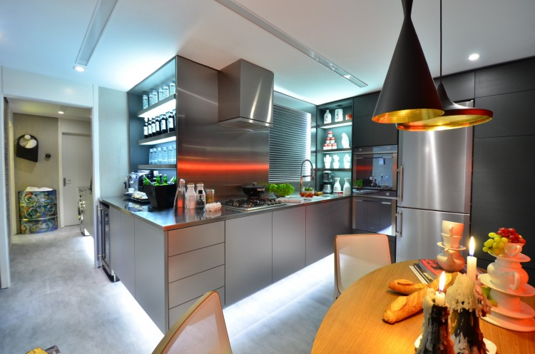 Contemporary Approach To Kitchen Design The Live In Kitchen Concept