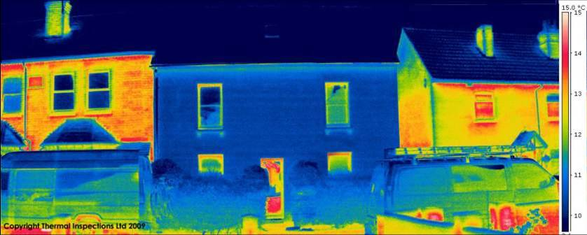Passive House Thermal Inspection