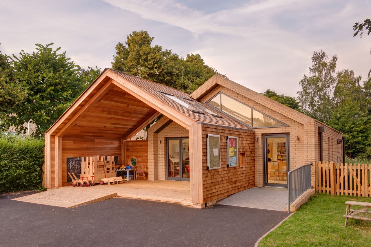 Warm and Friendly Feel Defining St Mary's Infant School in Oxfordshire, England