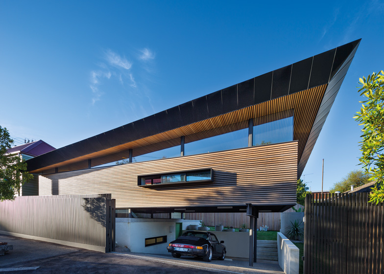 Demanding Modern Design For Two Level House Extension In