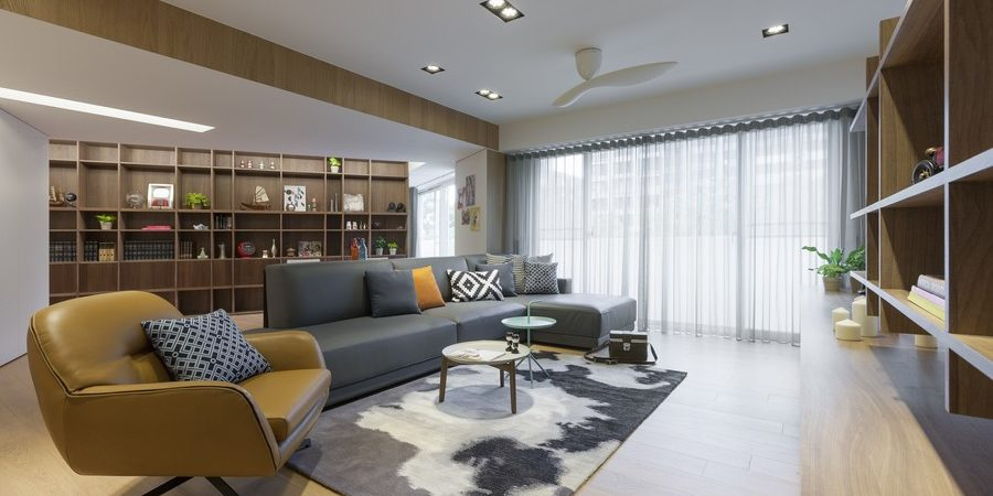 Modern Crib in Taiwan Displaying a Highly Intriguing Layout
