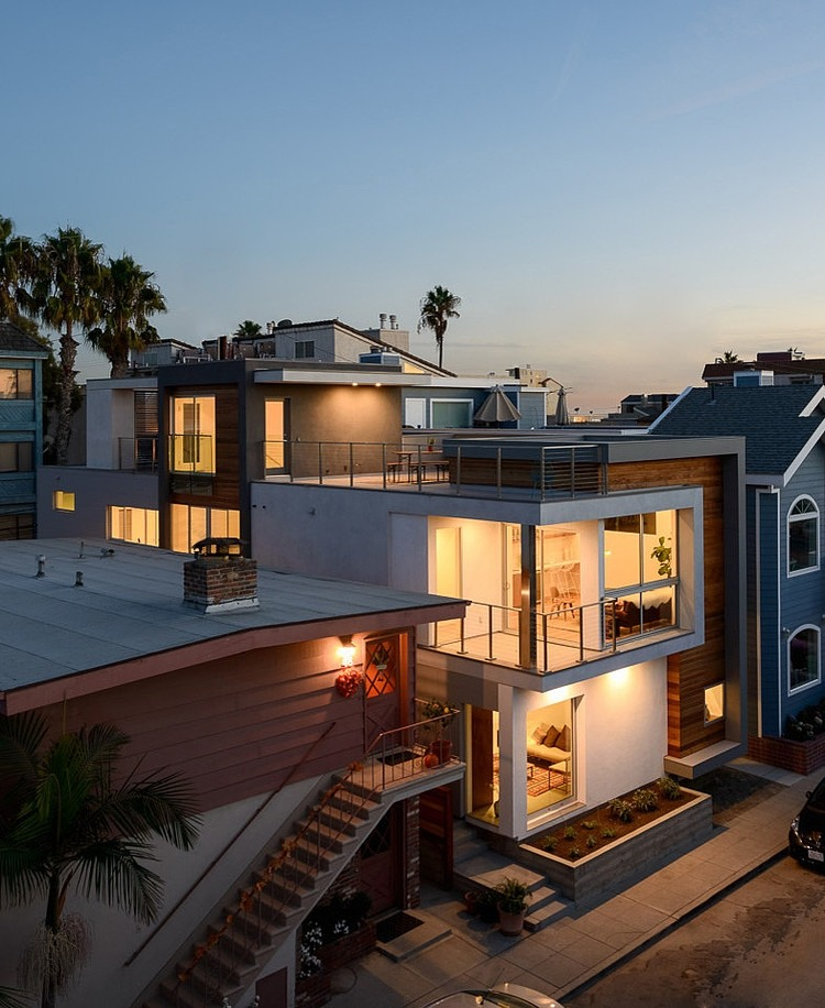 Stunning California Beach House Inspired By The Horizon: Impressive Modern Design Exhibited By Peninsula House In