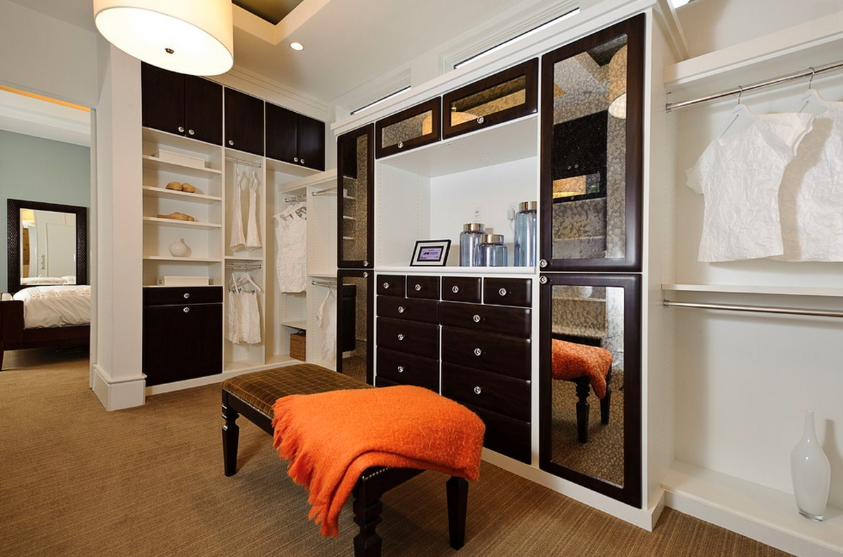 Collect this idea brightening dark interiors wardrobe closet