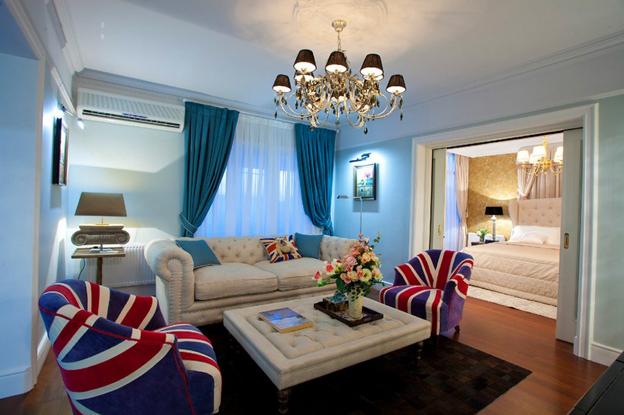 Royal British Atmosphere Experimented in 100Sqm Russian ...