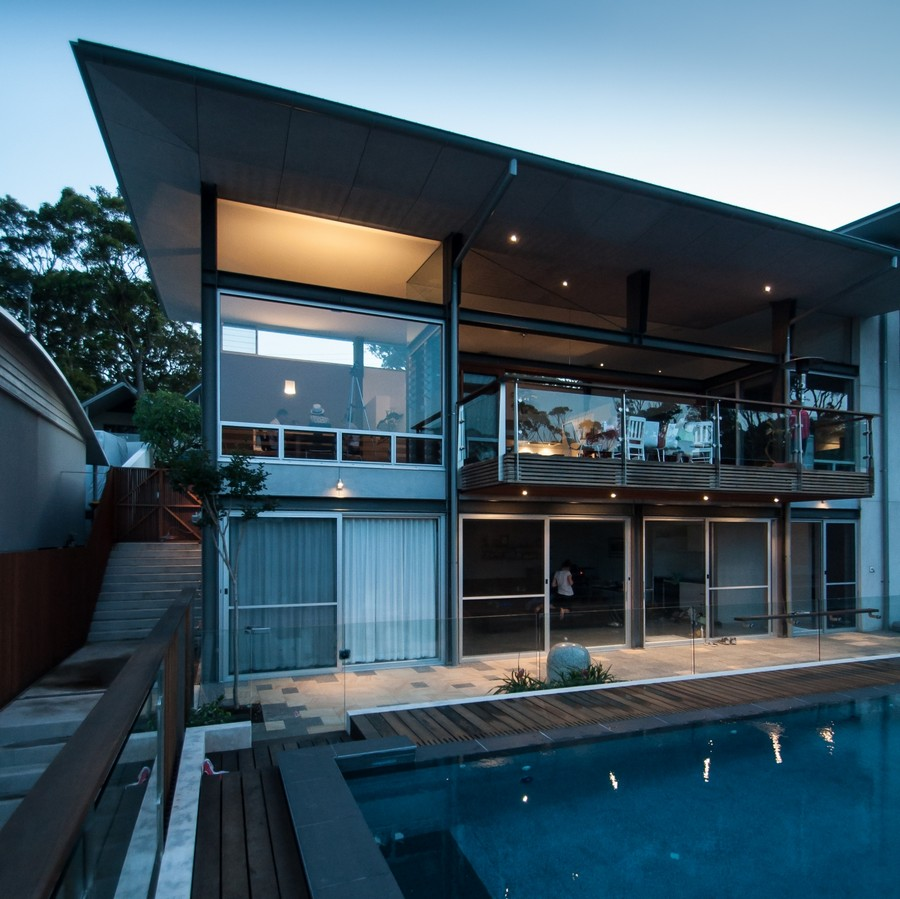 Home Design Ideas Australia: Exquisite Views And Fine Modern Details: Dudley Residence