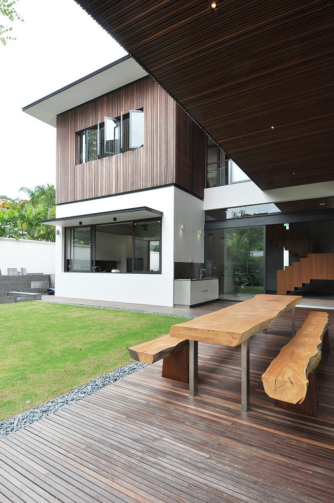 design sunset terrace house architology - 38+ Modern Terrace Design For Small House Images