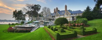 Striking $30,000,000 Estate With Beautiful Gardens And Relaxing Views
