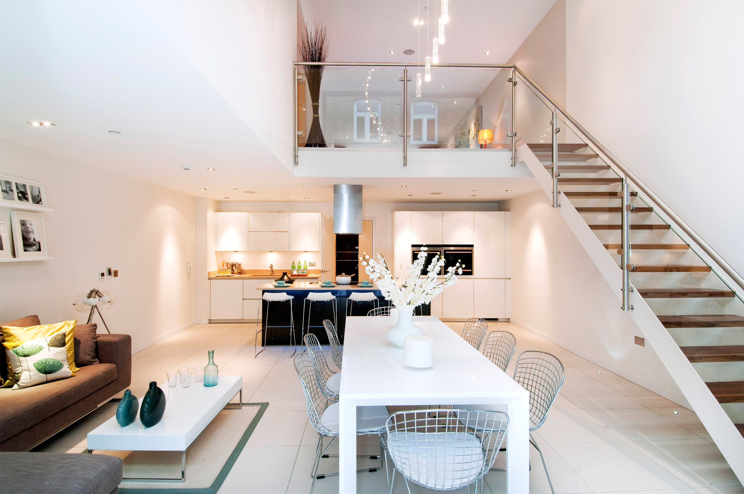 Kitchen living dining 2