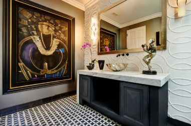 luxe design bathroom details