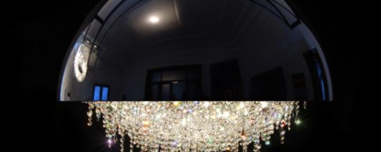 Custom Made Chandelier That Turns Light Sources Into Rainbows