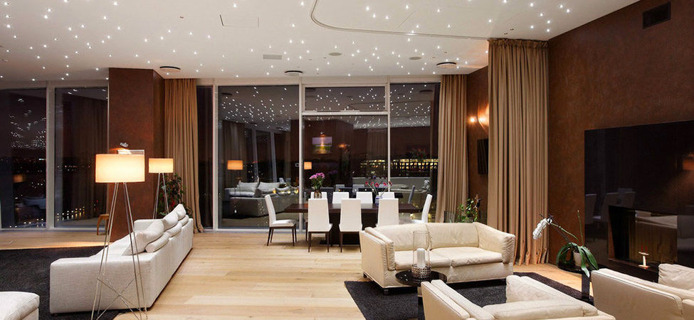 Moscow Apartment with a Luxury Cruise Ship Feel: Stonehenge Loft