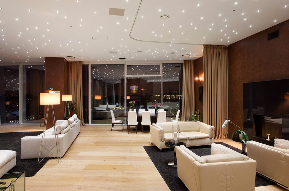 Moscow apartment with a luxury cruise ship feel for Appartamenti design firenze