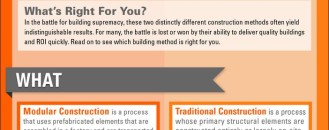 How to Choose Between Modular Construction and Traditional Building [Infographic]