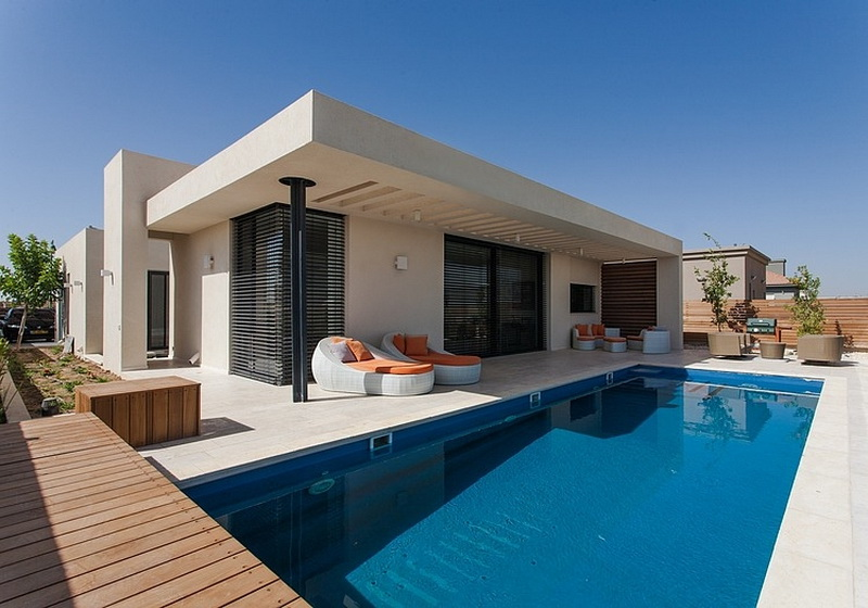 Home Design Ideeen : When free movement and harmony collide pool family home in israel