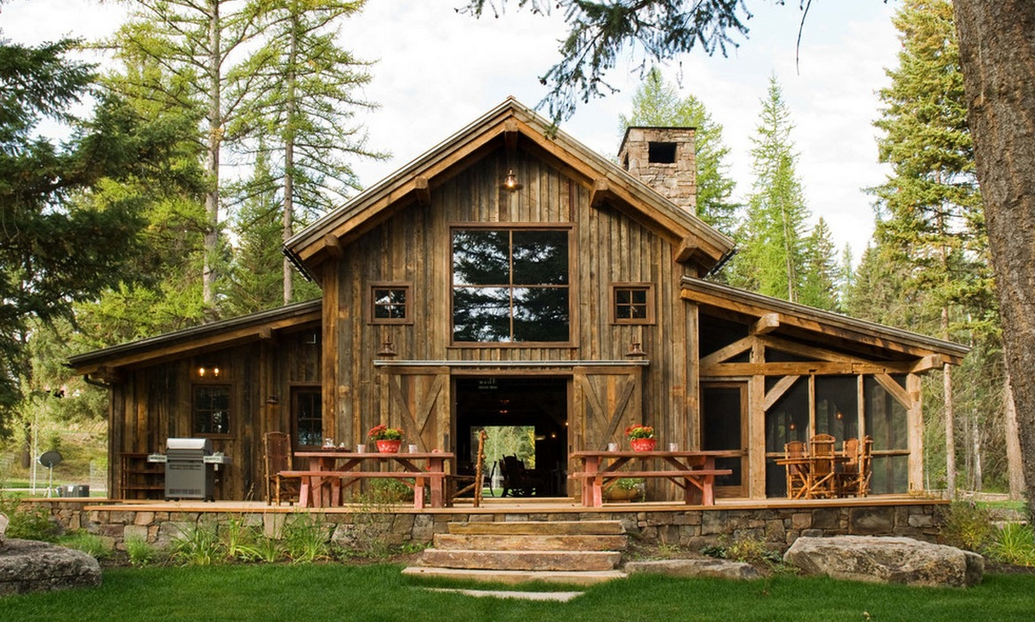 10 Rustic Barn Ideas To Use In Your Contemporary Home Freshome Com