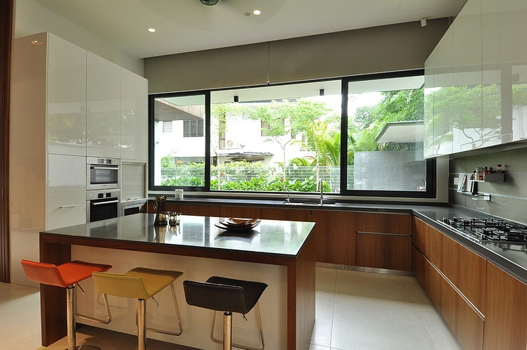 Stylish Bungalow Inspired Residence in Singapore: Sunset Terrace ...
