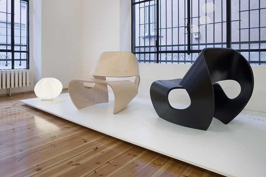 Etonnant Stylish Chair Design Inspired By The Concave Lines Of Sea Shells